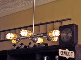 industrial style lighting. factory overhead chandelier industrial style lighting p