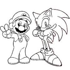 Mario And Sonic Free Coloring Pages On Art Coloring Pages
