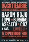 Rocktiembre [Plaza de Toros de las Ventas Madrid 17 Septiembre 2016]
