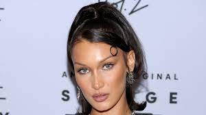 Bella Hadid Dyed Part of Her Hair Neon ...
