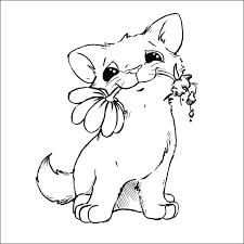 Gatti E Cani Da Colorare