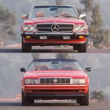 8 cylinder engine 5.6l/339 engine. Tested 1989 Cadillac Allante Vs Mercedes Benz 560sl