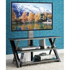 Tv Stands For Lcd Tvs Fitueyes Floor Universal Swivel Tv Stand Base With Mount For 32 42