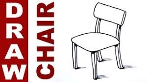 Brilliant School Chair Drawing A Throughout Decorating