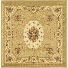 versailles phillipe tan 4 0 x 4 0 square rug