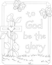 Christian Easter Coloring Pages Religious Coloring Pages Free