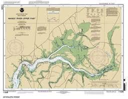Charleston Nautical Chart 11526 Wando River Upper Part Nautical Chart