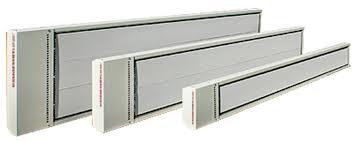comfortline overhead electric radiant heating panels