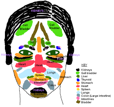 Spot Positions Acne Locations And Chinese Face Mapping