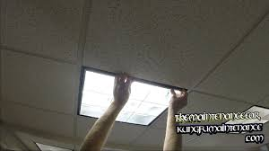 Kitchen Fluorescent Light Fixture Covers How To Replace Drop Ceiling U Shaped Fluorescent Office Lights