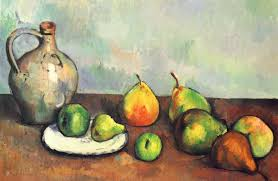 still life pitcher and fruit 1894 paul cezanne
