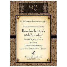 90th Birthday Invitations With Photo Birthday Invitations Yellow