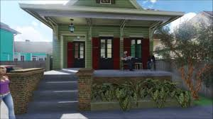 Shotgun Home New Orleans Shotgun House Youtube