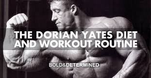 Bodybuilding Exercises Chart Free Download Pdf The Hardcore Dorian Yates Diet And Workout Routine Bold