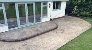 Patio Designs Pictures Uk Pattern Imprinted Patio Designs Creative Driveways