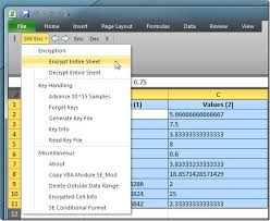Encrypted Excel Files Encrypt Excel Spreadsheet Selected Data Range With Sheet