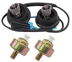 amazon com motoku knock sensors harness connector for cadillac motoku knock sensors harness connector for cadillac chevy gmc gm ls1 lq4 lq9 6 0 5 3 5 7