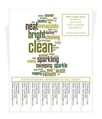 Housekeeping Flyers Templates Free Cleaning Flyer Templates By Cleaningflyer Com
