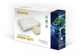 <b>Подушка</b> Орматек <b>Junior Soft</b> – купить по цене 6700 ₽ в интернет ...