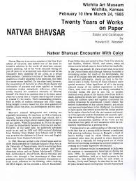 essay art research titles national gallery singapore bhavsar  bhavsar natvar selected document a digital natvar bhavsar encounter color essay pg 1