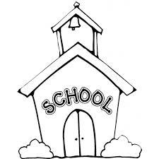 Disegno Di La Scuola Da Colorare Per Bambini