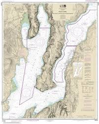 18458 Hood Canal To Quatsap Point Including Dabob Bay Nautical Chart