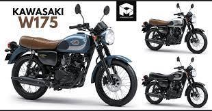 kawasaki w175 retro bike india launch