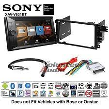 gmc envoy radio parts & accessories ebay Envoy Wire Harness sony double din media player car radio install mount kit harness (fits gmc envoy gmc envoy wire harness