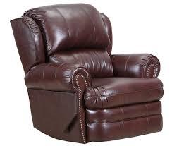 com lane hancock first class leather vinyl rocker power recline recliner in delray cabernet kitchen dining