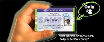 print my texas food handlers card dedicard co