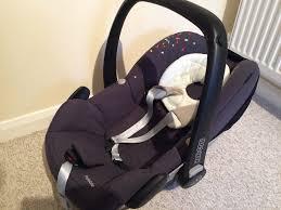 newborn set maxi cosi pebble car seat with familyfix base foot summer cover