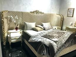 Baroque Headboard Queen King Oversized Tufted Bedroom Set White Full ...