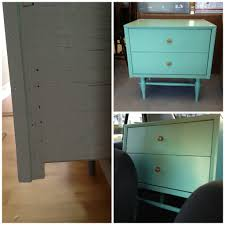 best paint for wood furnitureThrift store table makeover paint wood furniture  CRAFT