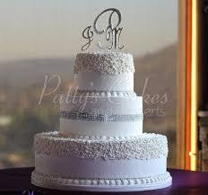 3 Tiered Round Wedding Cakes