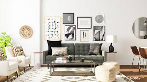 layout narrow living room