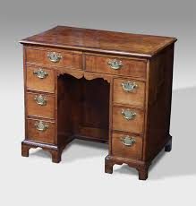 antique kneehole desk