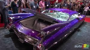 Custom 1959 Cadillac Coupe De Ville at SEMA 2010 - YouTube