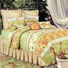 shabby chic bedspreads c f garden dream bedding