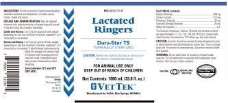 What Is Lactated Ringers Solution Lactated Ringers