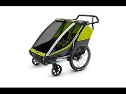 Multisport trailer - <b>Thule</b> Chariot Cab - YouTube