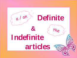 Image result for definite and indefinite articles