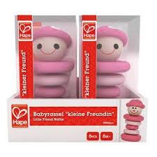<b>Happy Baby</b> Preschool Kids Little Friend Wooden Rattle Girl Toy ...