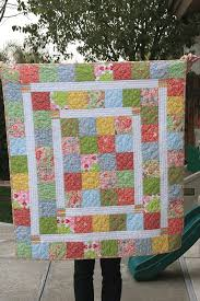 1867 best Quilting images on Pinterest | Blue, Charm pack and Crafts & Super Quick and Easy Baby Quilt New Moms Will Love - Quilting Digest Adamdwight.com