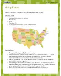 Going Places - Free Geography Worksheet for 4th Grade   Lexi's ...