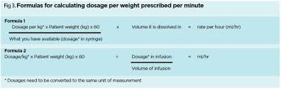 How To Calculate Drug Doses And Infusion Rates Accurately
