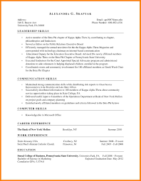 Experience Based Resume Template