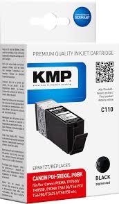 KMP Ink replaced Canon <b>PGI-580</b> XXL <b>Compatible</b> Black C110 ...