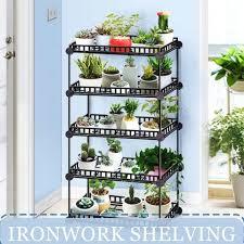 6 5 4 3 tier plant shelves