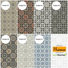 tangier designs from morocco vinyl flooring collection at best4flooring