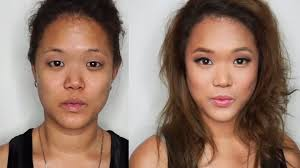 how to put makeup on monolids contour an oval face asian eyes tutorial you